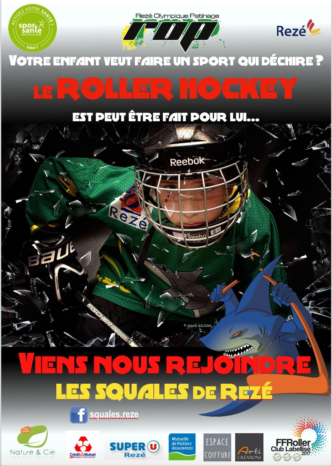Affiche Roller Hockey